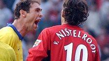 Martin Keown and Ruud van Nistelrooy