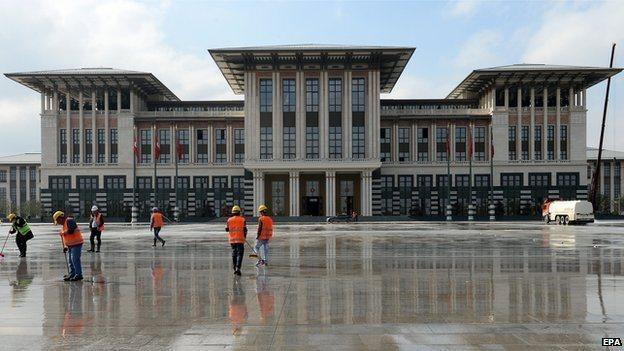 Turkey's Ak Saray, Ankara - file pic