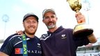 Yorkshire captain Andrew Gale and head coach Jason Gillespie