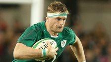 Jamie Heaslip in action for Ireland against Australia last year