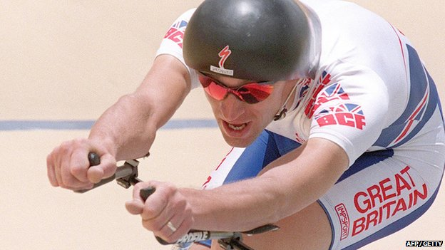 Graeme Obree at 1996 Olympics