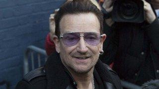 BBC News - Bono bike accident: 'I may never play guitar again'