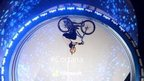 Danny MacAskill's loop-the-loop stunt