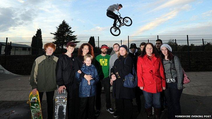 Rothwell skaters
