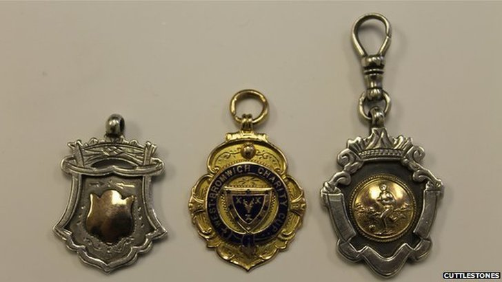 The three medals