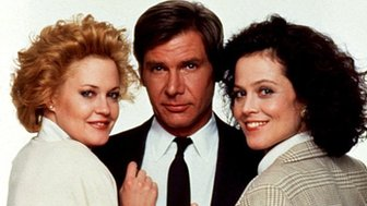 (l-r) Melanie Griffith, Harrison Ford and Sigourney Weaver in Working Girl
