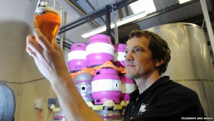 Richard Shelton, Ilkley Brewery