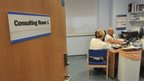 Doctors surgery consulting room