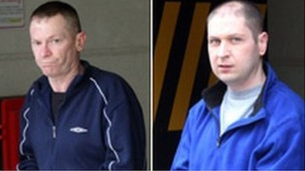 Charles O'Neill and William Lauchlan. Pics by CIARAN DONNELLY