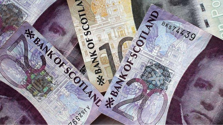 bank of scotland notes