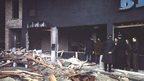 Scene after the 1974 Birmingham pub bombings