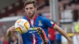 Inverness Caledonian Thistle left-back Graeme Shinnie