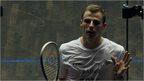 VIDEO: Matthew loses spiky squash semi-final