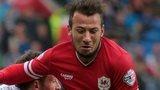Cardiff City striker Adam Le Fondre