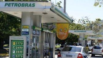 Petrobras filling station