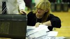 Votes being counted in Rochester and Strood by-election