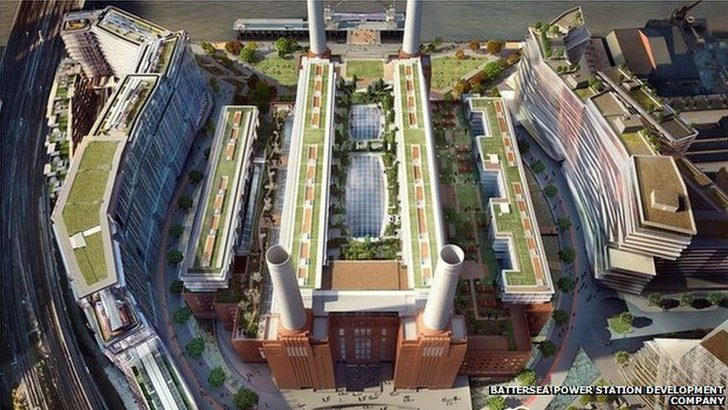 Battersea Power Station development plans