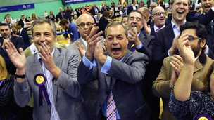 Members of UKIP celebrating