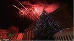 Fireworks in Salisbury 20 Nov 2014