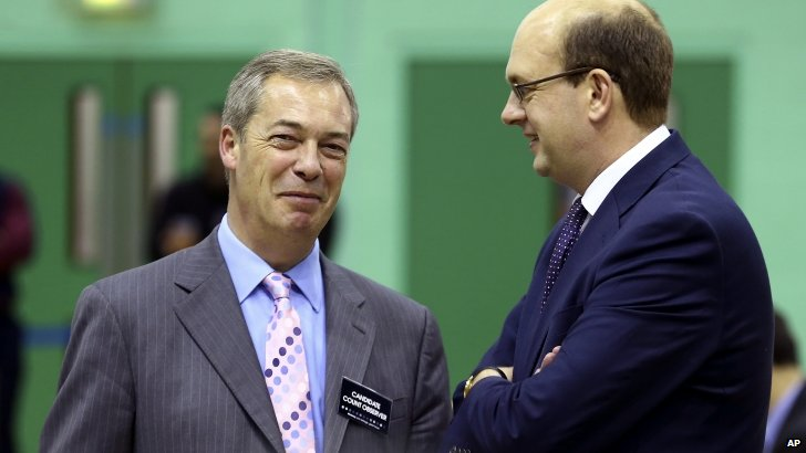 Nigel Farage MEP and Mark Reckless MP