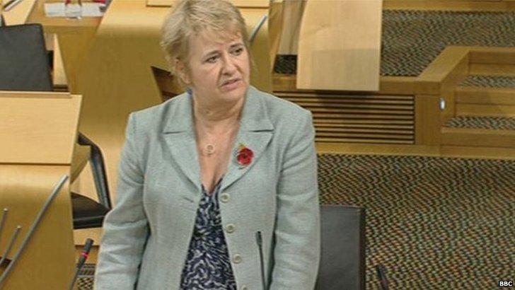 Legal Affairs Minister Roseanna Cunningham