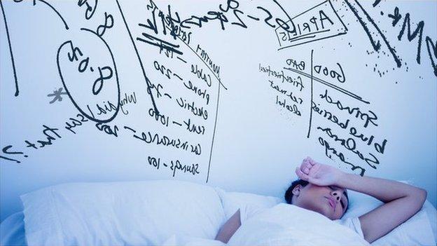 Busy mind sleep