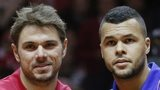 Stan Wawrinka and Jo-Wilfried Tsonga