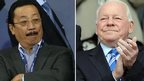 Vincent Tan and Dave Whelan
