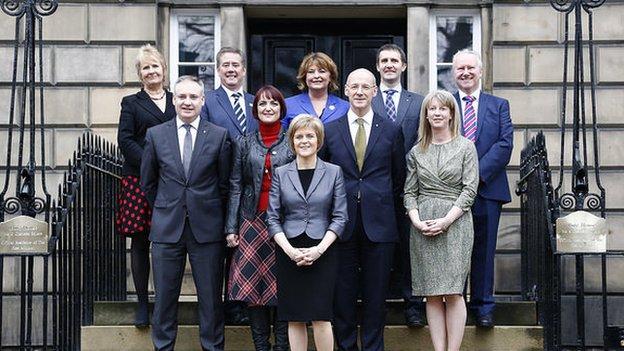 Scottish cabinet 2014