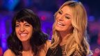 Claudia Winkleman and Tess Daly on Strictly Come Dancing