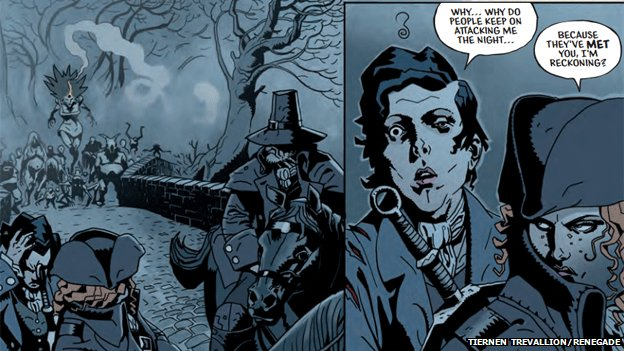 Robbie Burns: Witch Hunter