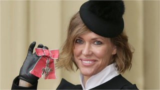 BBC News - Cerys Matthews 'storms the palace' to collect MBE