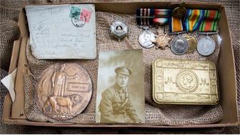 WW1 family mementos