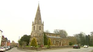 All Saints church in Husbands Bosworth.