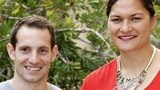 Pole vaulter Renaud Lavillenie and shot putter Valerie Adams