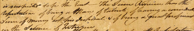 Letter from Alexander Stratton 14 June 1805