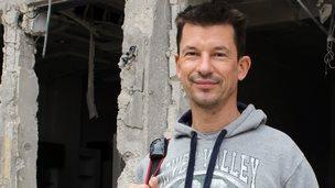 John Cantlie in Syria in November 2012