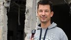 John Cantlie in Syria in November 2012