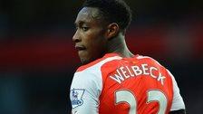 Arsenal striker Danny Welbeck
