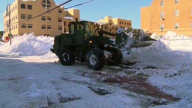 Flood warnings for US snowmelt...