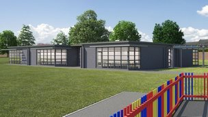 Expanded Sayes Court school