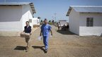 Ebola hospital in Sierra Leone
