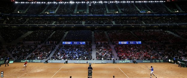 Davis Cup final in Lille