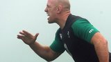 Ireland's Paul O'Connell in training for Australia