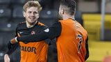 Stuart Armstrong and Nadir Ciftci celebrate