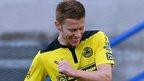 Cliftonville striker Stephen Garrett scored his side's third goal