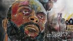 Image of Michael Brown Snr on Howard Barry artwork