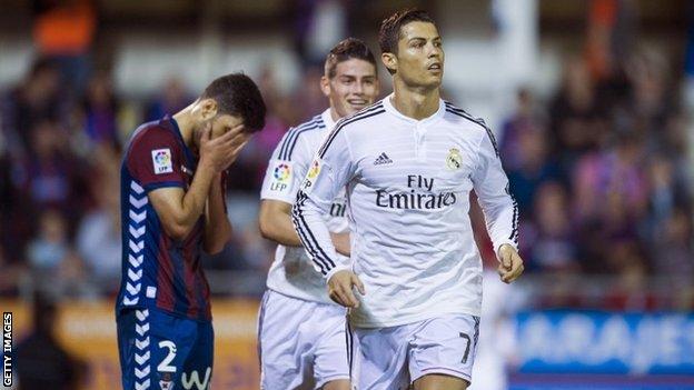 Prediksi Skor Eibar vs Real Madrid 29 November 2015 Liga Spanyol