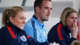 England head coach Mark Sampson