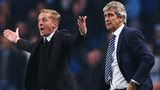 Garry Monk and Manuel Pellegrini